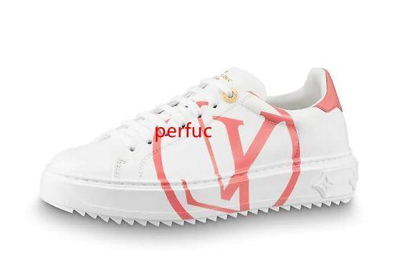 2019 mujeres de calidad superior de impresión de Carta Calzado casual zapatillas de deporte Tiempo de salida de la piel de vacuno 1A4GEE calzado deportivo con