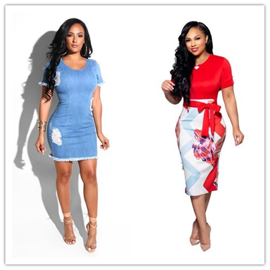 여성 디자이너 드레스 꽃 인쇄 패션 Vestidos 드 Mujer 긴 소매 캐주얼 옷 깃 목 여자 드레스