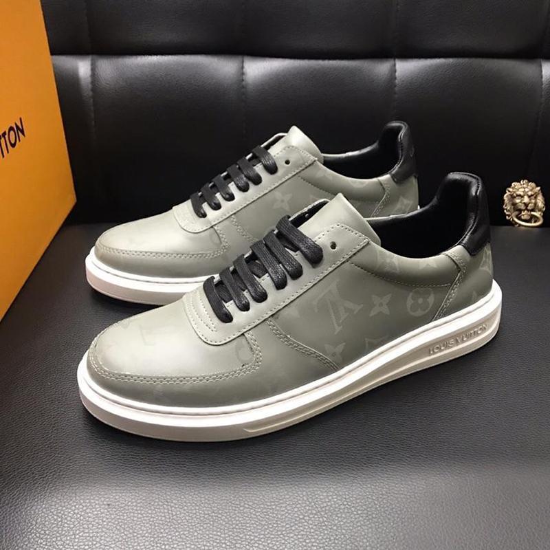 Hommes Casual '; S Chaussures Léger et Automne Hiver Sport Vintage Herren Luxus Marken Schuhe dentelle -Jusqu'à style Plate-formes Mode Flats Casu