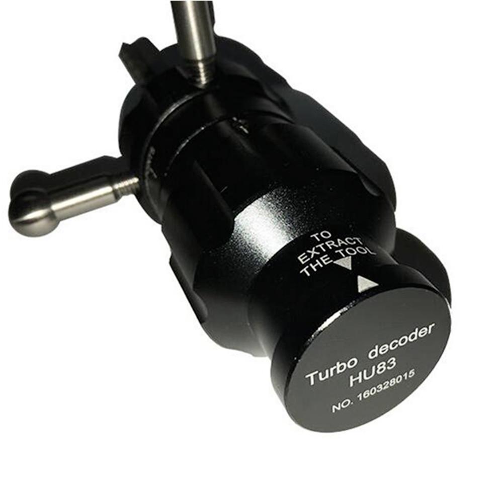 جديد وصول السيارات توربو فك تشفير HU83 V.2 أنبوبي قفل يختار الأقفال أدوات توربو فك lockpeark أدوات الأقفال