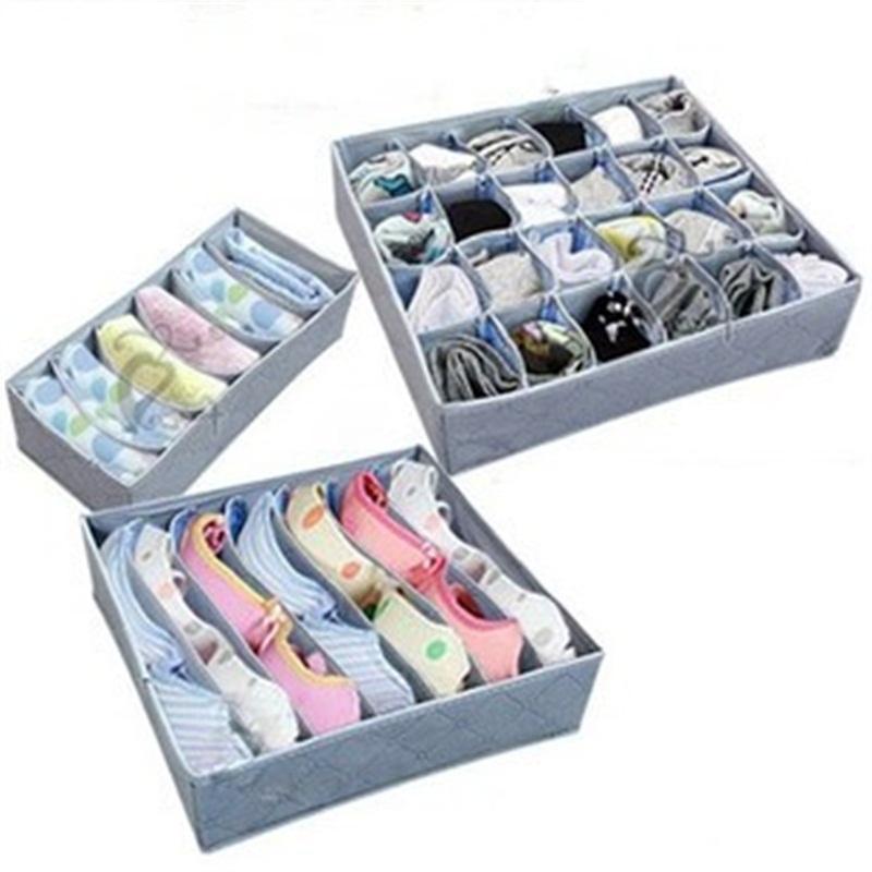 3adet Bambu Kömür Depolama Box Setleri İç Giyim Külot Ve Sütyen Dolap Organizatörler Suit Ev Konteynerleri 6 7 24 Kafes 7 99jm E1 ayarlar