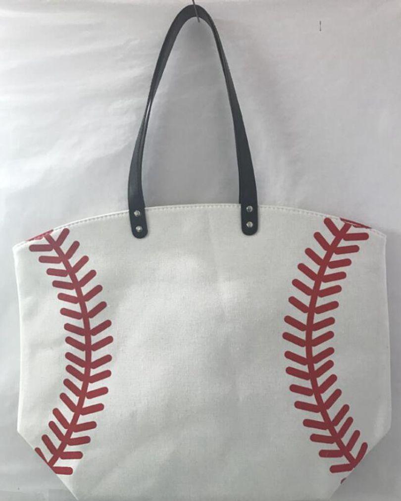 حقيبة 18 الأنماط البيسبول جراب قماش حقائب البيسبول كرة القدم الكتف كرة القدم طباعة أكياس القطن الرياضة حمل حقيبة يد GGA3587-1