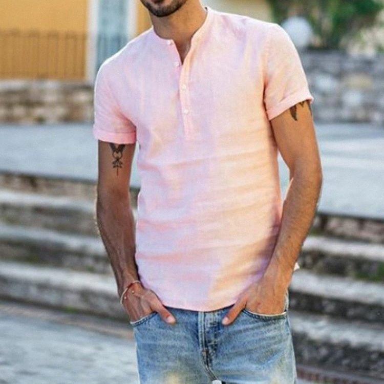 Plus Size T-shirt des hommes d'été de coton T-shirts à manches courtes Retro Hip Hop Casual Vêtements pour hommes T-shirts drôle Coolest T-shirts Y3cf #