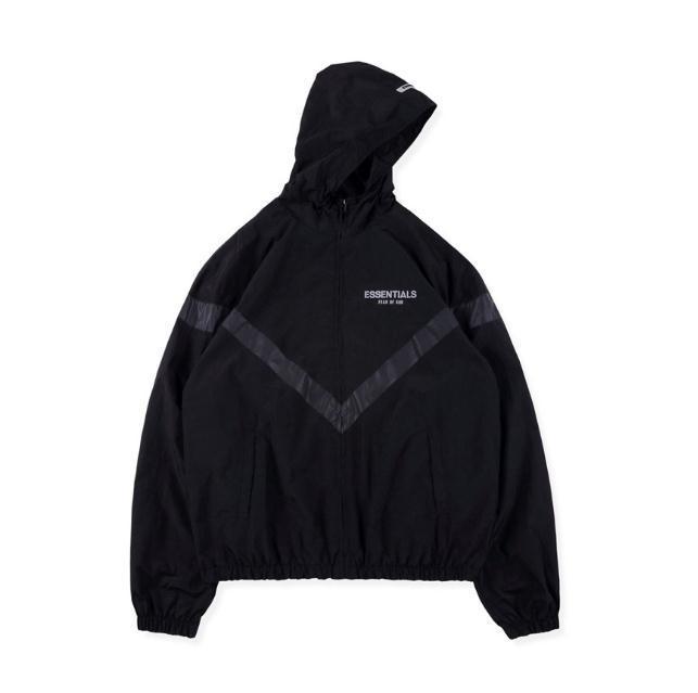 2020ss erkek kadınların Tanrı'nın Tanrı Korkusu Essentials 3 M Yansıtıcı Hoodie Ceket Ile Etiket Aşağı Parka Coat Sıcak Satış Sweatshirt Szie S-XL ile