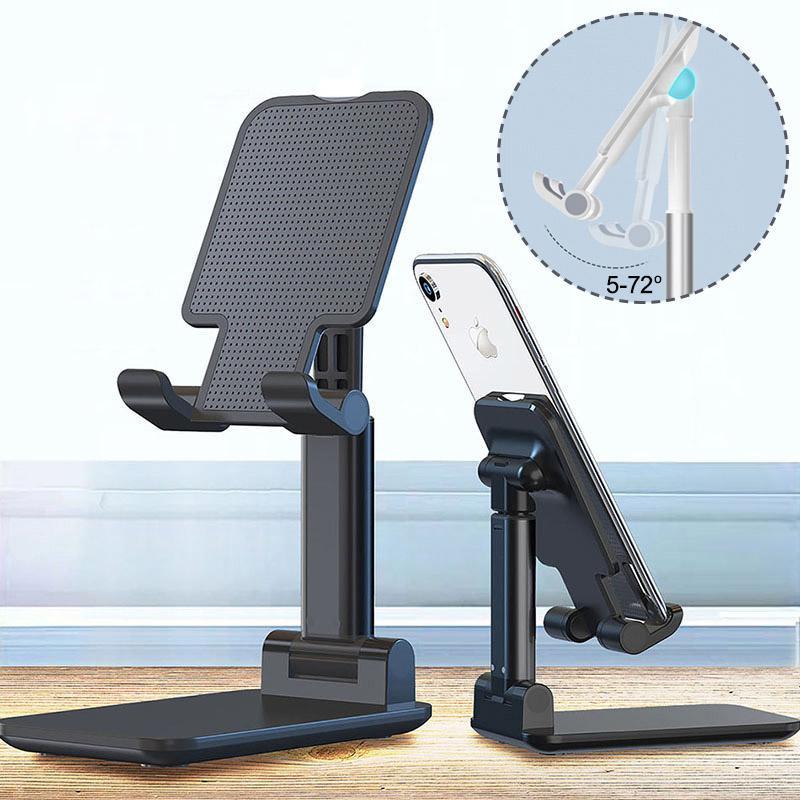 T1 porta cellulare supporto per il desktop staffa metallo telescopico estendere supporto tablet tablet stand regolabile angolo girevole portatile per iPad telefoni