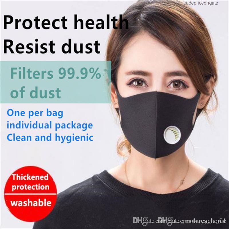 Punto múltiple Cara utilizan tiempos de polvo 95 Válvula respiratoria y la máscara anti-vaho se pueden enviar en lotes 13