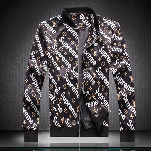 2019 Nuevo estilo del diseñador de los hombres chaqueta de invierno Escudo de lujo desgaste mujeres de los hombres de manga larga para hombre Ropa al aire libre Ropa de Mujer medusa chaqueta M-4XL6 + 6