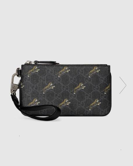 feixiang5255 NL6E 575137 cas iPhone avec imprimé tigre MEN CHAIN WALLET PORTEFEUILLES Sacs à main d'épaule sac à bandoulière Sacs de ceinture Mini Sacs