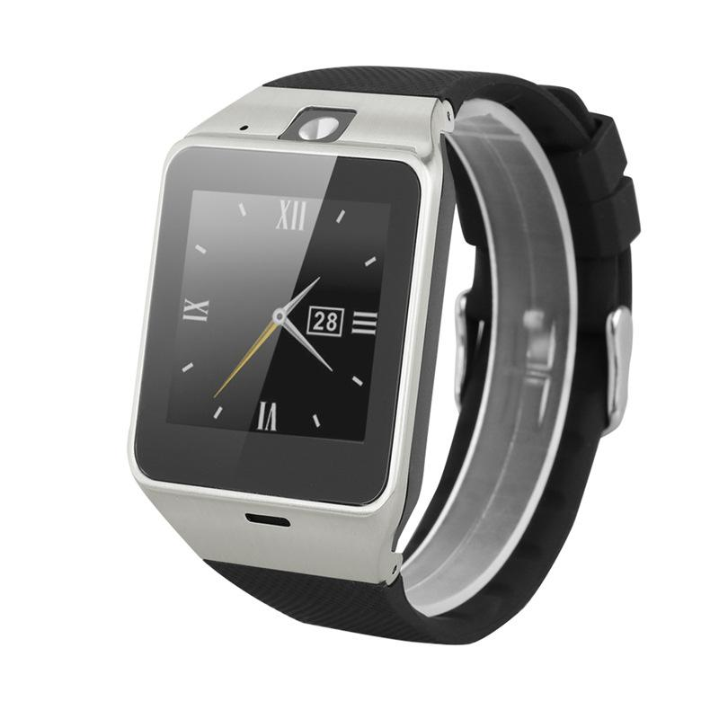 GV18 Smart Watch Bluetooth Watch with Camera WristWatch Support SIM card Bracelet for IOS iPhone Android Phone Watch