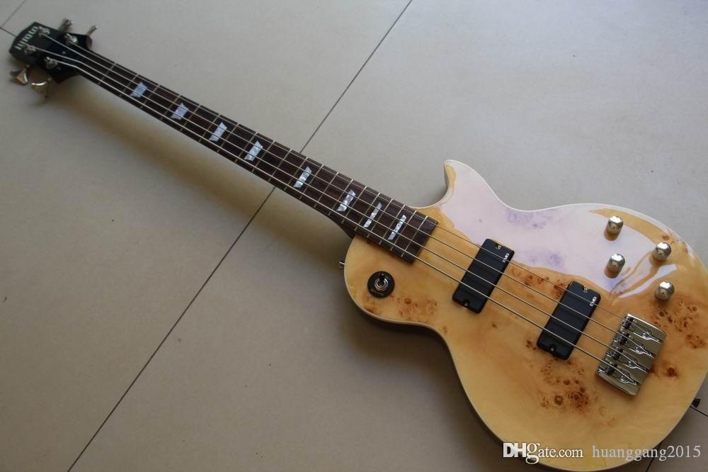 도매베이스 기타 사용자 정의 4String 전기베이스 기타에 최고 품질 자연 120802
