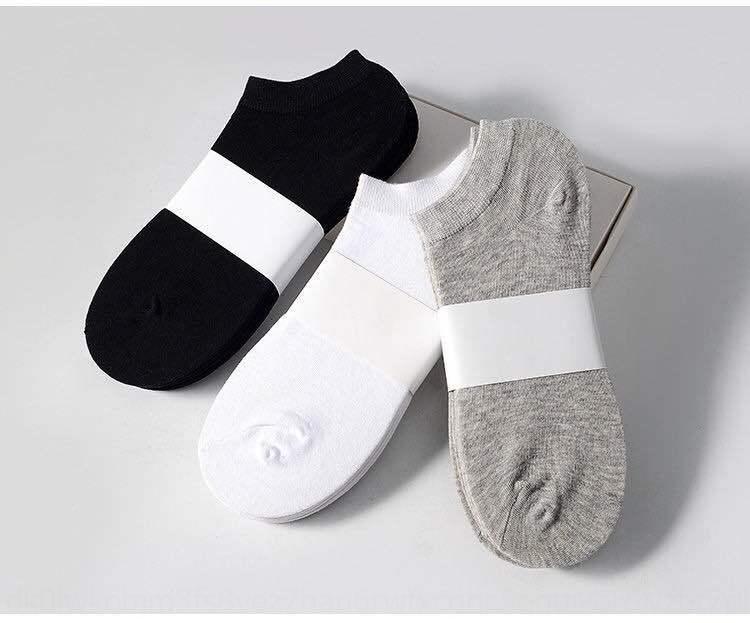Siyah beyaz ve gri Boat ve yaz tekne erkek çorabı wo kadın yaz çorap pamuk polyester pamuk