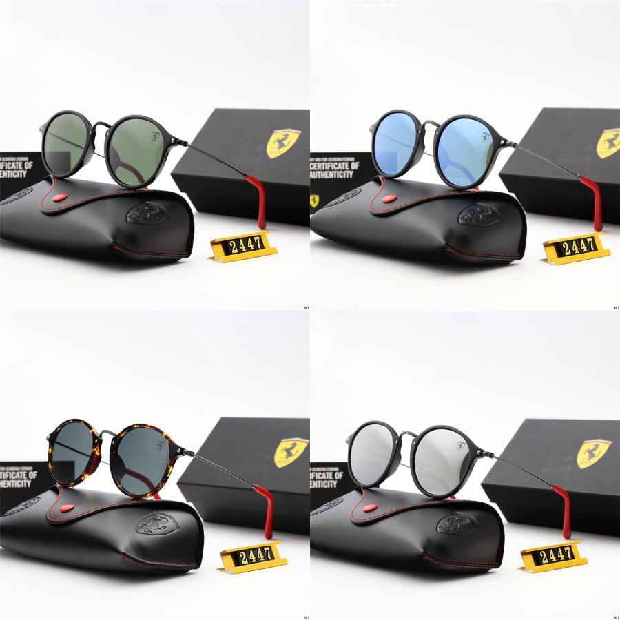 10pcs gafas de sol del verano mujeres de la manera de los hombres gafas de sol de conducción al aire libre de los vidrios del viento 6Olors Ciclismo de ojos Gafas de sol Gafas de sol retro libre S # 482