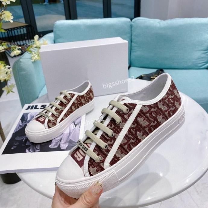 Christian Dior shoes 2020 platformunun spor ayakkabılar moda kadın rahat ayakkabı ayakkabı kadınlar ayakkabı tıknaz spor ayakkabısı cx200702 takoz womens