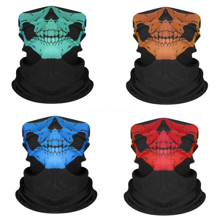Máscaras AoSSJ FashionFlag Ciclismo mágica del pañuelo Headskull bufanda del cuello de la máscara a prueba de viento bufandas Deporte Camouflag Cara Con Filtere # 978