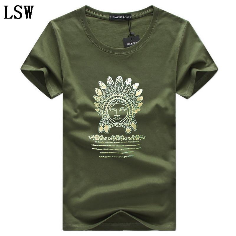 T-shirt dos homens Moda Imprimir camisa Hipster engraçado t Men Verão rua Casual Hip-hop camisetas Blusas Masculinas 5XL C-1