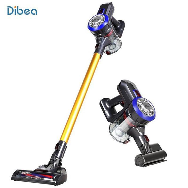 DIBEA Lightweight Wireless Lade Handheld-Staubsauger Handheld 9000pa-Staubsauger mit Milbenentfernung elektrischer Bürste TBDIBEA