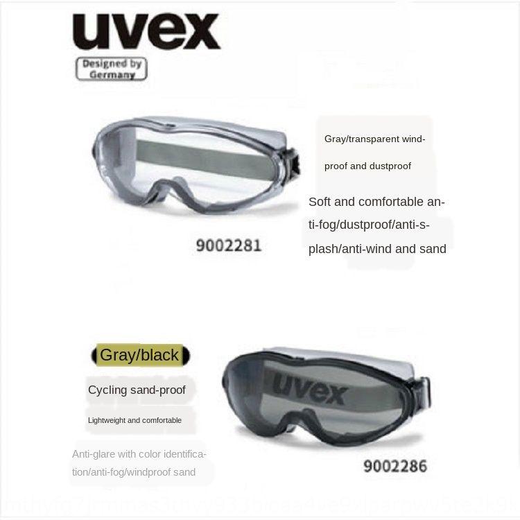 FKX4n UVEX uvius 9002-245 анти-химические анти-воздействия защитные очки верхом пыле ветрозащитной sandproof ProtectionGoggles защиты Уве