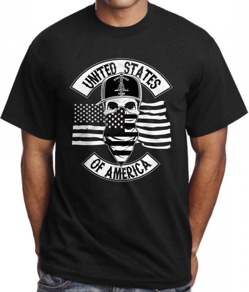 Americana camiseta militar táctico de guerra Gadsden EE.UU. camiseta de la camiseta para hombre Ropa Camisetas Tops Tee