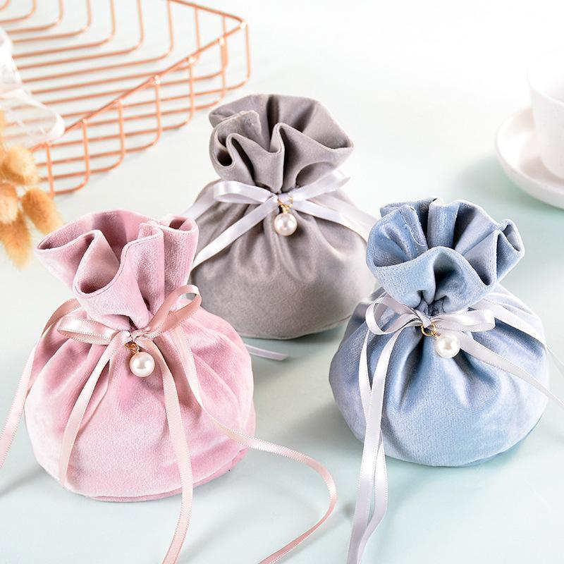 Fontes Doces Sacos de casamento festa de casamento festa de aniversário Decoração Gift Bag Casamento Engagement doces bolsas Discount Wrapping Paper Ro FJsu #