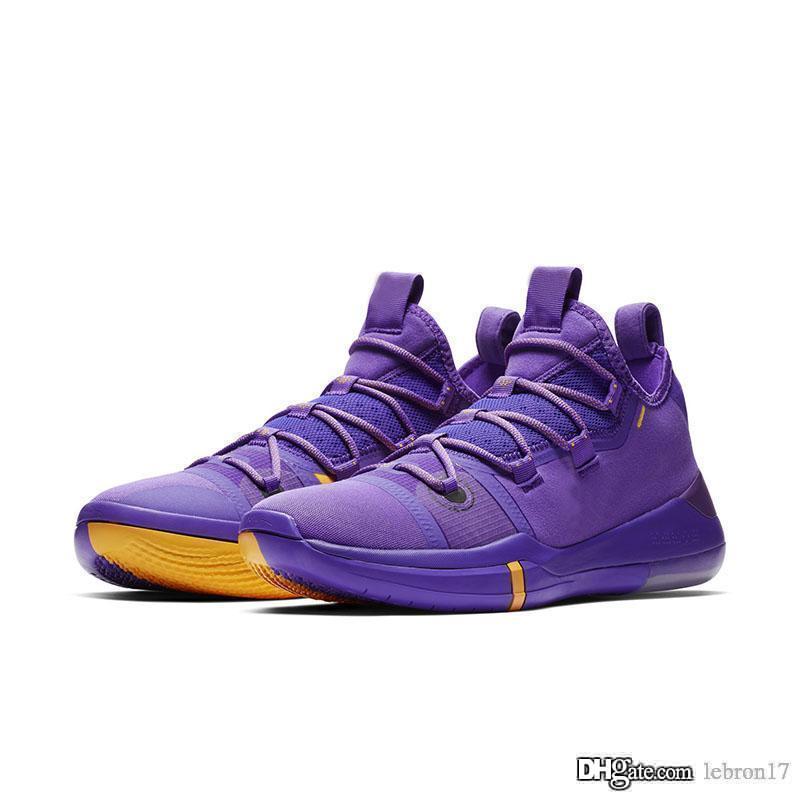 Мужские Bryants ZK объявление 12s XII баскетбол обувь Фиолетовый Красный Синий Черный Белый Розовый мамба Дети Джеймс Леброн 17 кроссовки тенниса с размером коробки 7 12