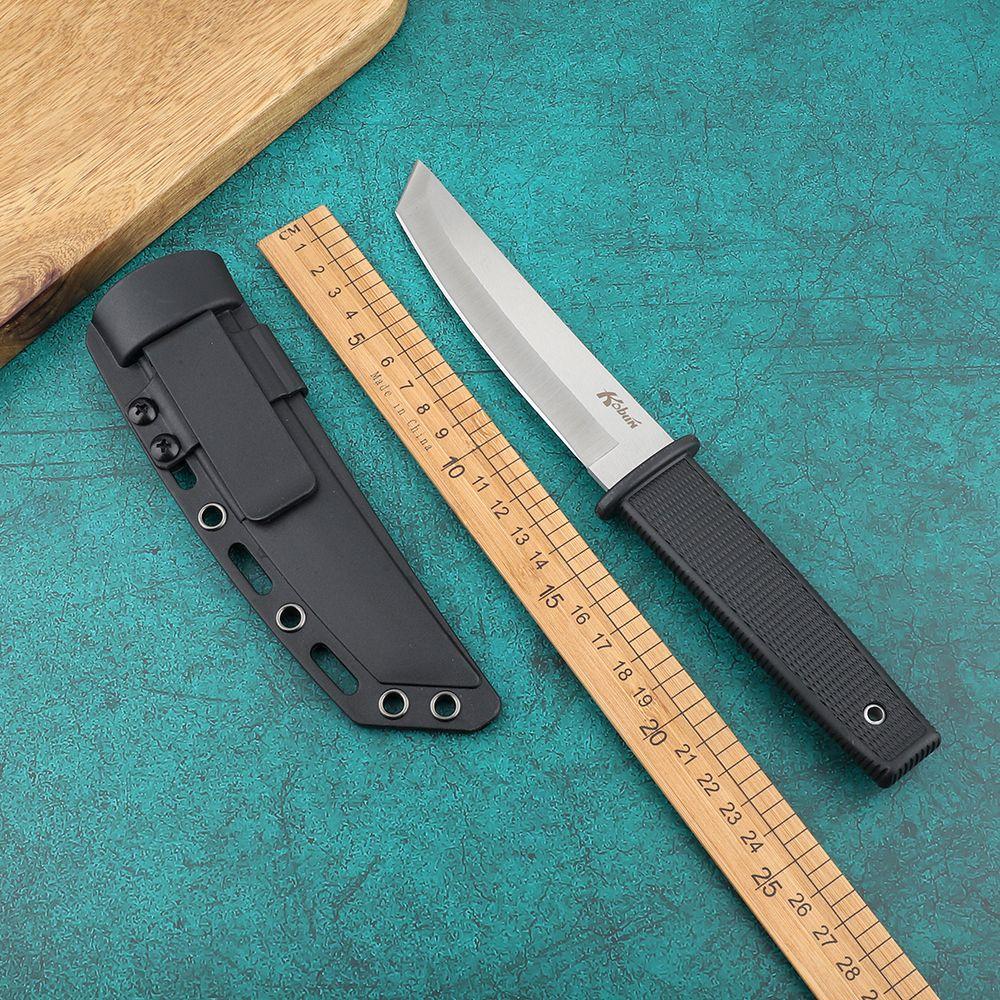 Pratico strumento Coltello a lama fissa Nuova Cold Steel 17T Kobun sopravvivenza lama diritta Tanto Angolo raso della lama