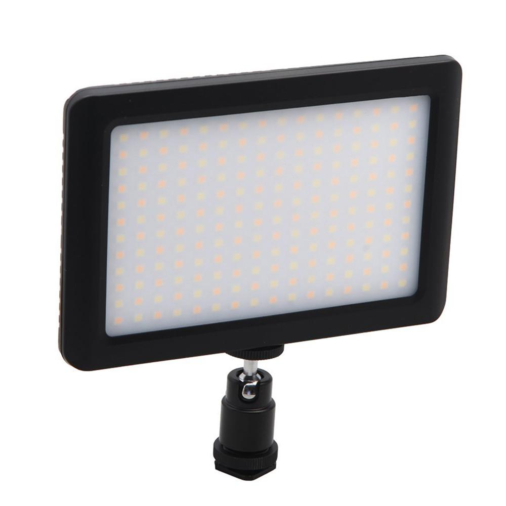 LED Light for DSLR Camera Camcorder Continuous Light, Battery and USB Charger, Carry Case Photography Photo Video Studio black