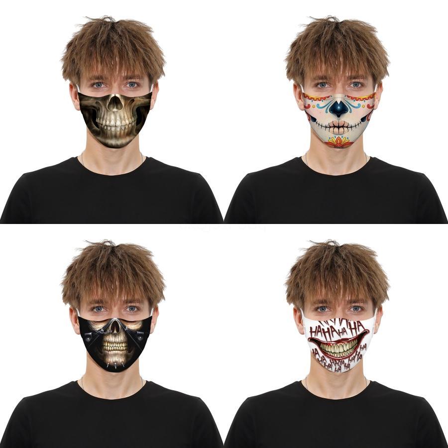 Filtre Toz Korumalı Yüz Maske Kişiselleştirilmiş Parodi Sınır Ötesi Nefes Yüz Maskeleri ile Utterfly 3D Baskılı Yüz Maskesi # 940