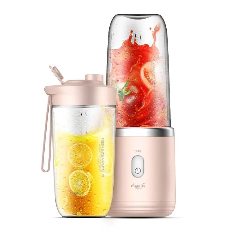 Deerma DEM-NU05 عصارة الفاكهة اللاسلكية المحمولة والنباتية متعددة الوظائف عصير عصارات البسيطة طالب آلة عصير الكهربائية من XIAOMI يو