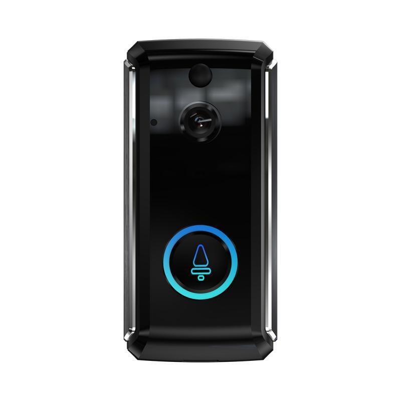 MR101 intelligent Wifi Intercom Caméra visuelle Sonnette sans fil Sonnette Vidéo pour Appartements Alarme IR Caméra de sécurité sans fil
