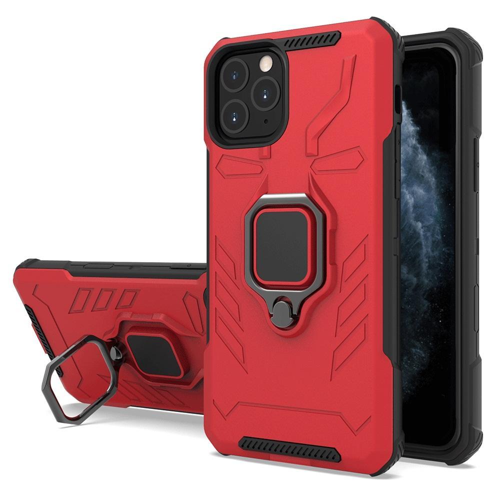 Für Samsung Note 10 5G Anmerkung 9 8 S10E S9 S8 S7 Plus-Schutz-Ständer 360 Grad Ring Fall Stoß- Telefon-Abdeckung