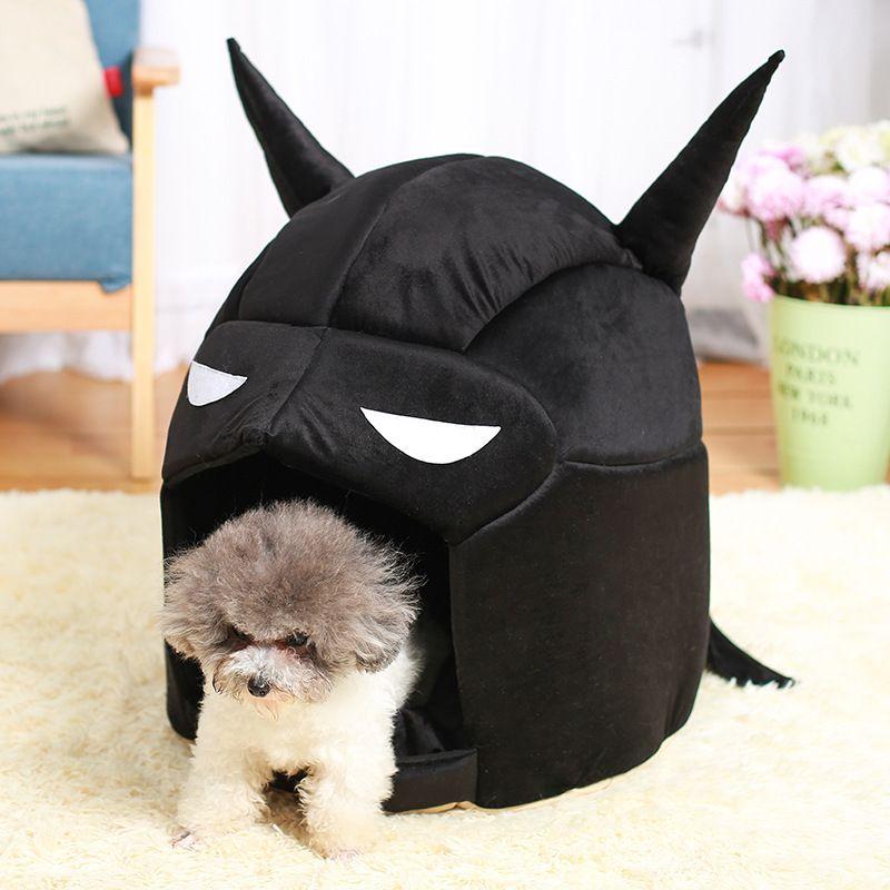 Dog House macio respirável Cat Dog Kennel para Small Medium Cachorrinho Teddy Nest Bed Supplies Casa Camas Yurt Pet