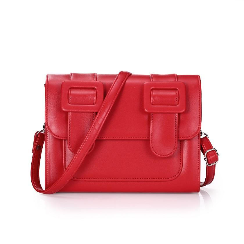 Adorável bonito crossbody mulher doce desenhista desenhista bolsas de couro para cores de moda de luxo ombro 14 satchels senhoras sacos bolsa rlijw