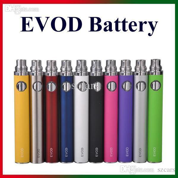 EGO-T eVod batterie 650/900 / 1100mAh capacità sufficiente per l'ego 510 Discussione sigarette e Nautilus Mini Aerotank Mini Protank 3 atomizzatori
