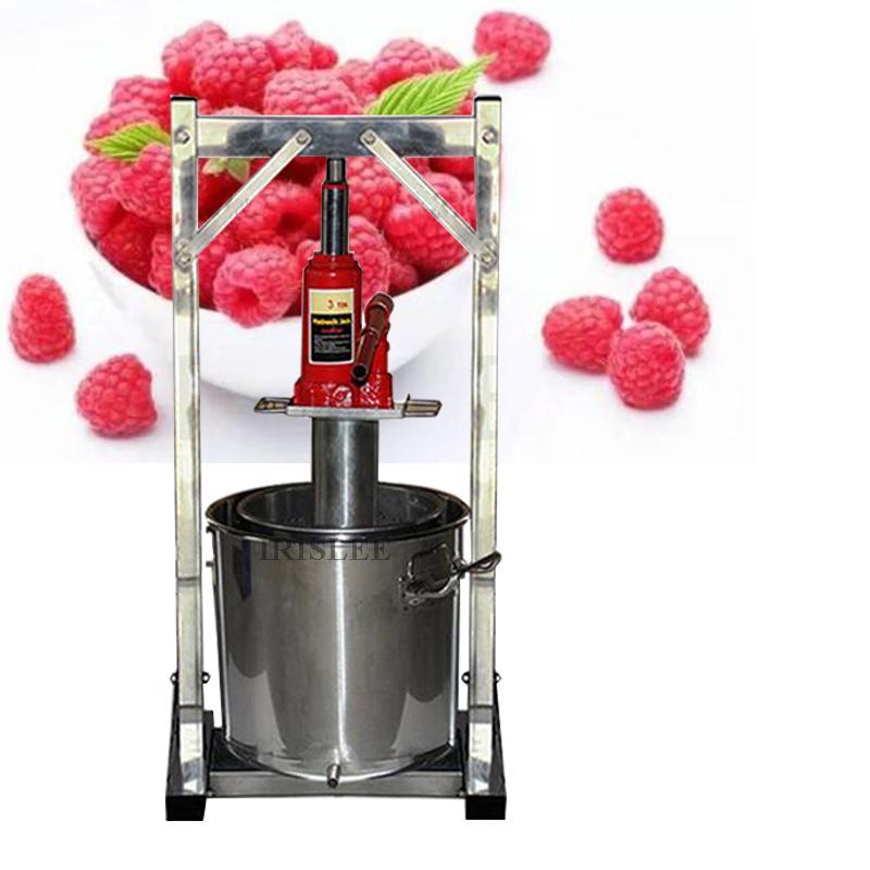 36L Capacité de jus de fruits à froid Presse Juicing machine acier inoxydable WithManual de pâte de raisin Juicer machine commerciale