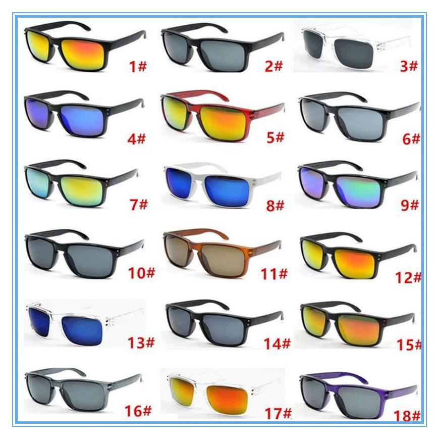 Couleurs Vendre 18 Designer chaud pour hommes d'été Sun Uv400 Lunettes de soleil Sport Sport Hommes Protection Verres 2020 Sunglasses HMQLB