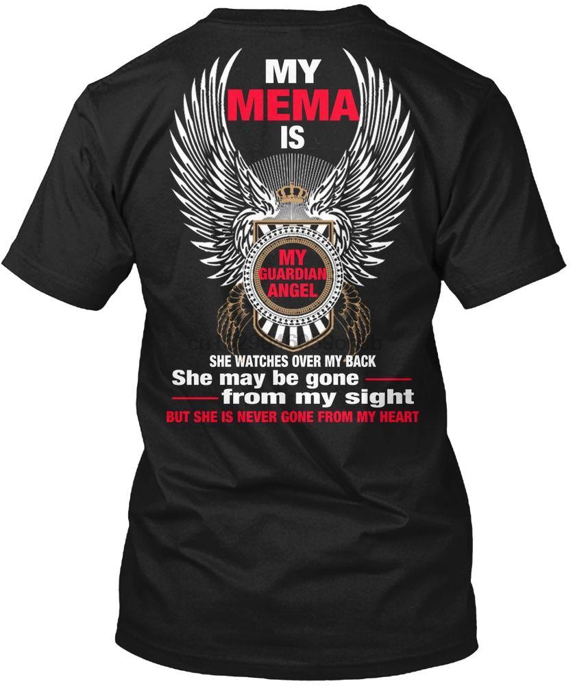 Männer-T-Shirt Mein Mema- Mein Schutzengel Frauen-T-Shirt