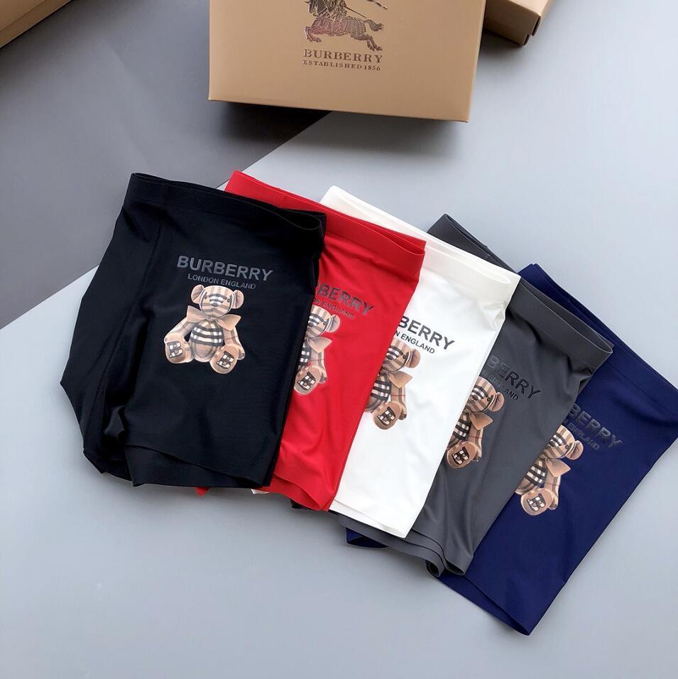 Élégant Boxeurs Sous-vêtements homme respirant Crémeux Underpants hommes Bulge coton Pouch boxers Underpants Hot