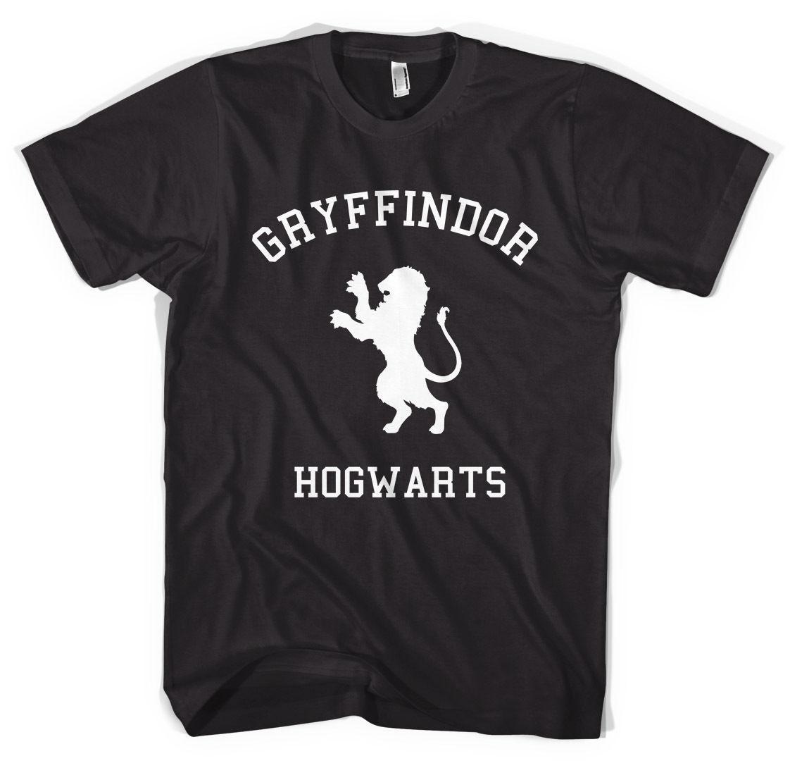 Gryffindor camisa del equipo universitario camiseta unisex