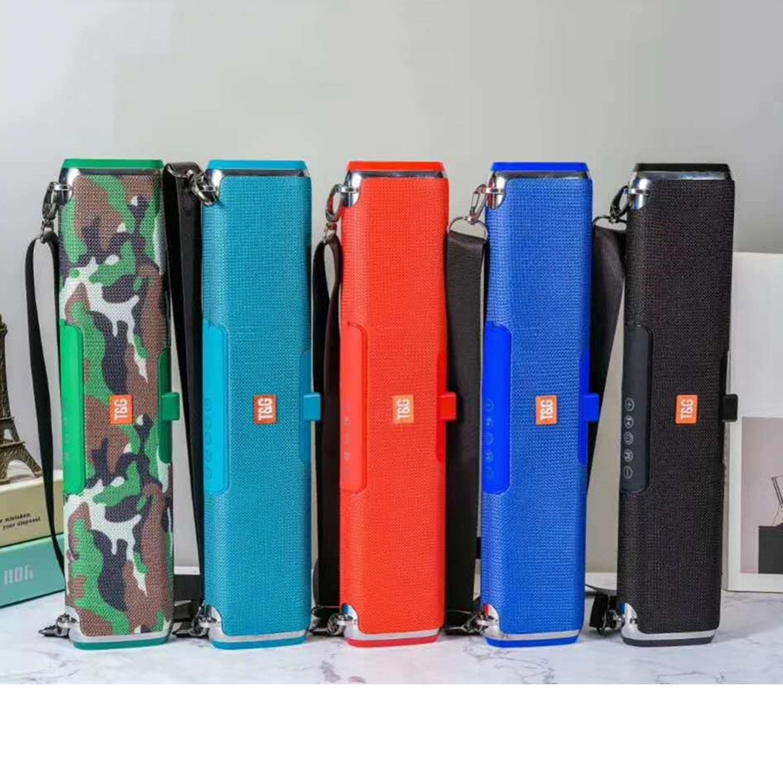 TG178 Stereo-Bluetooth-Lautsprecher im Freien Schulter Solar drahtlose Lautsprecher Soundbar Subwoofer Creative-Bluetooth-Lautsprecher