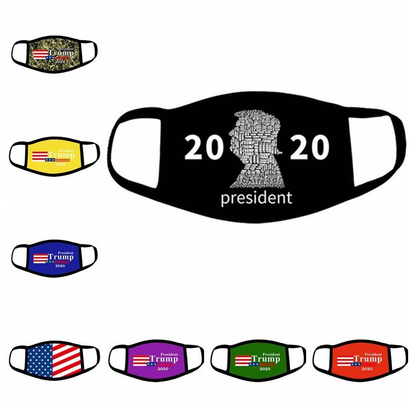 Trump maschera di 2020 accessori per la casa americana Elezione antipolvere Stampa protettivo realizza maschere in America di nuovo grande US Flag Mask IIA286