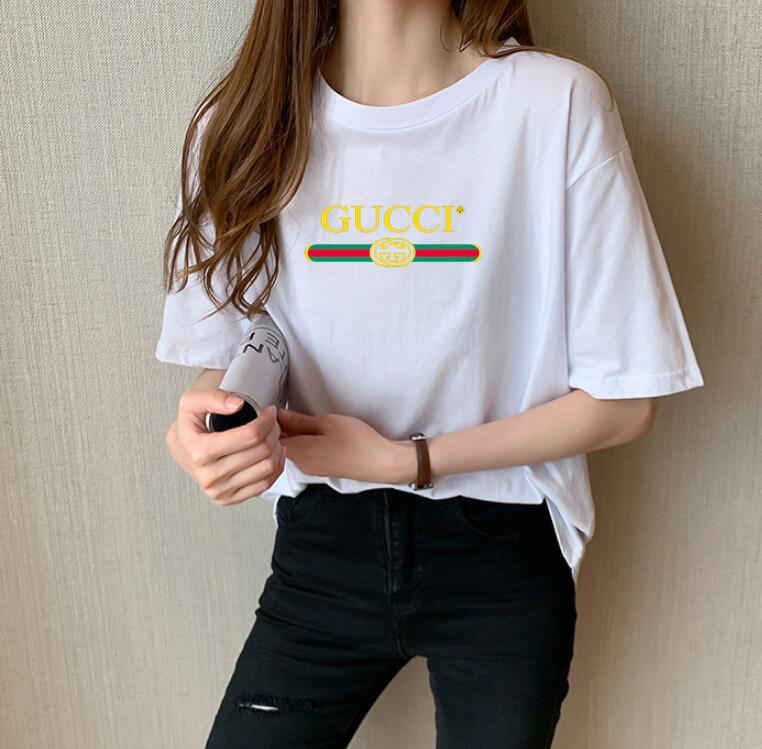 2020 ГОРЯЧАЯ тенниска лета женщин с коротким рукавом Женский печать футболки harajuk Верхняя майка Femme