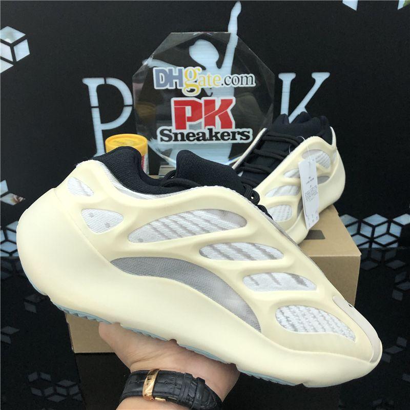 En Kaliteli 700 Spor Sneaker Bayan Erkek Koşu Ayakkabıları 3 M Yansıtıcı Alvah Azael Erkekler Spor Trainer Sneakers ile Kutusu Boyutu 36-48 EUR