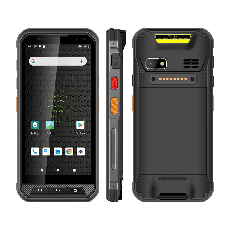 Uniwa V9C Smartphone 5.7 inch Qualcomm SDM450 Draagbare 2D Android Handheld Barcode Scanner