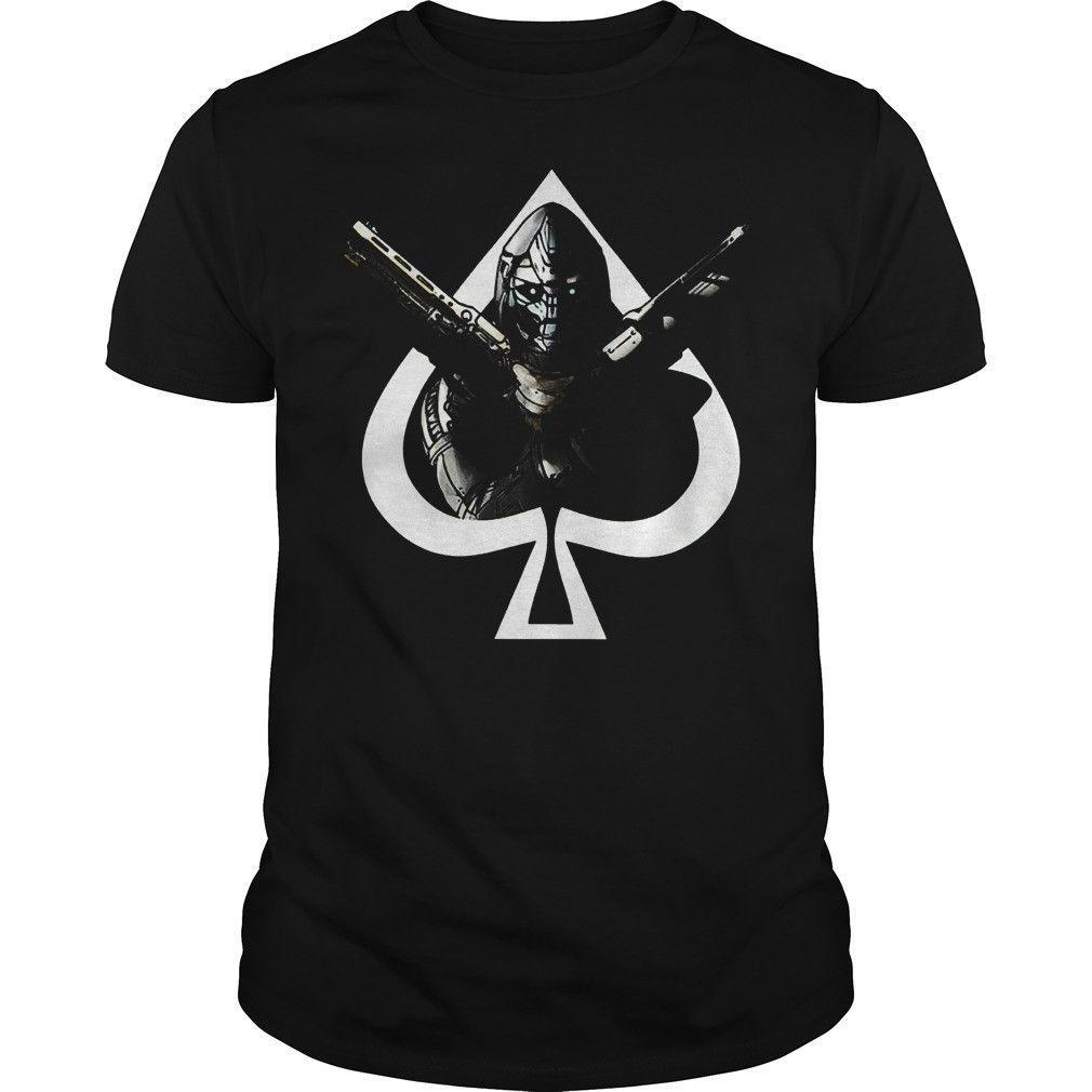 Cayde 6 McFarlane Destiny Jeu T-shirt T-shirt en coton noir hommes Rafraîchissez fierté Casual hommes t-shirt unisexe tshirt Mode