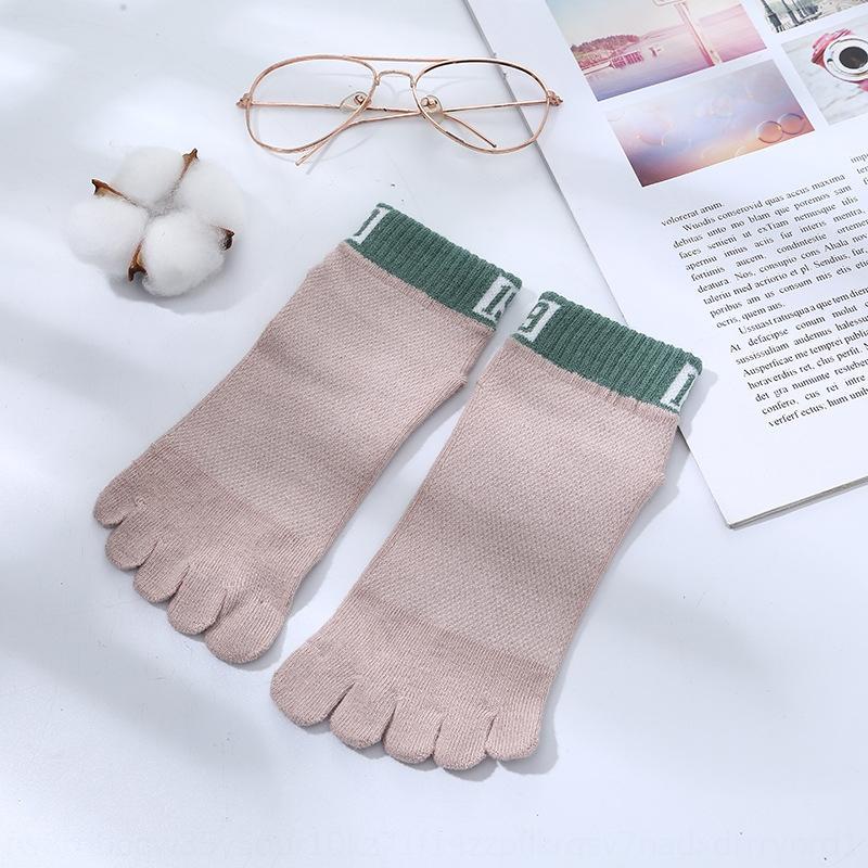 Of2KP Çocuk bahar pamuk örgü ve saf yaz bebek Çocuk bebek beş parmak çorap ayak çorap ayak parmakları 4-6-12 düzeltme