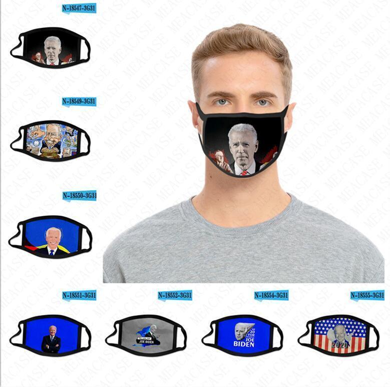 eleição presidencial Joe Biden US 2.020. Máscara Facial Máscaras Adulto Crianças respirável Dustproof máscaras protetoras lavável reutilizável Boca