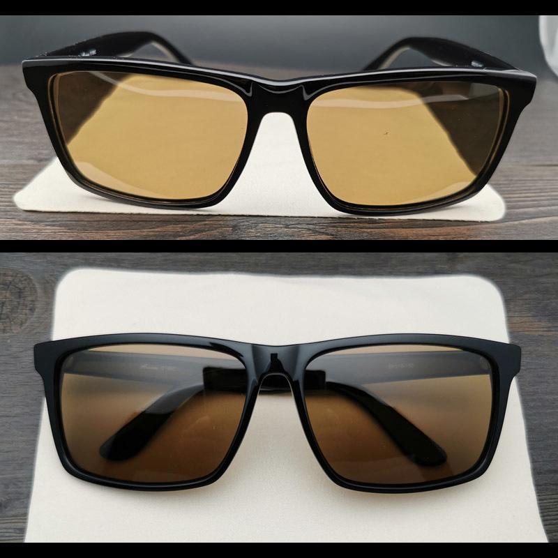 Evove surdimensionné lunettes de soleil polarisées Hommes Femmes 162mm Lunettes de soleil pour homme Cadre noir énorme Large Big Face
