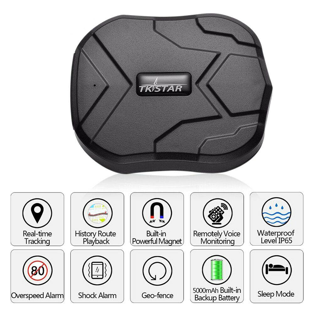 New Waterproof Tempo real GPS Tracker magnética Anti-roubo Tracking Device Car Locator