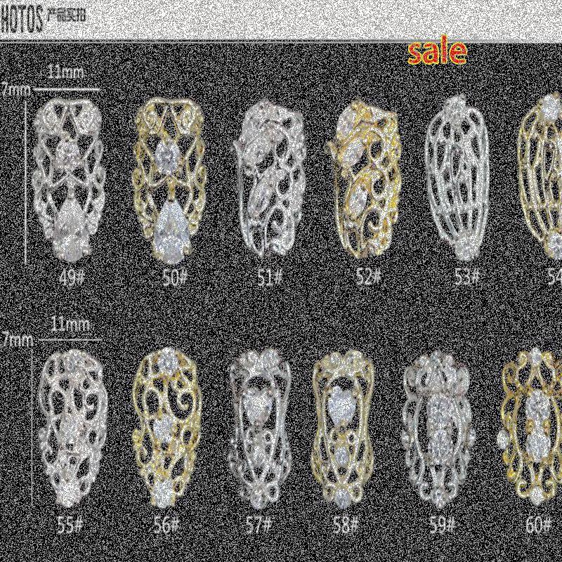الجملة الاختياري 3D لامعة مسمار حجر الراين سبيكة معدنية الفن مسمار تلميح الزركون تصميم الديكور التألق رخيصة اللوازم أحجار الراين مسمار ofsB #