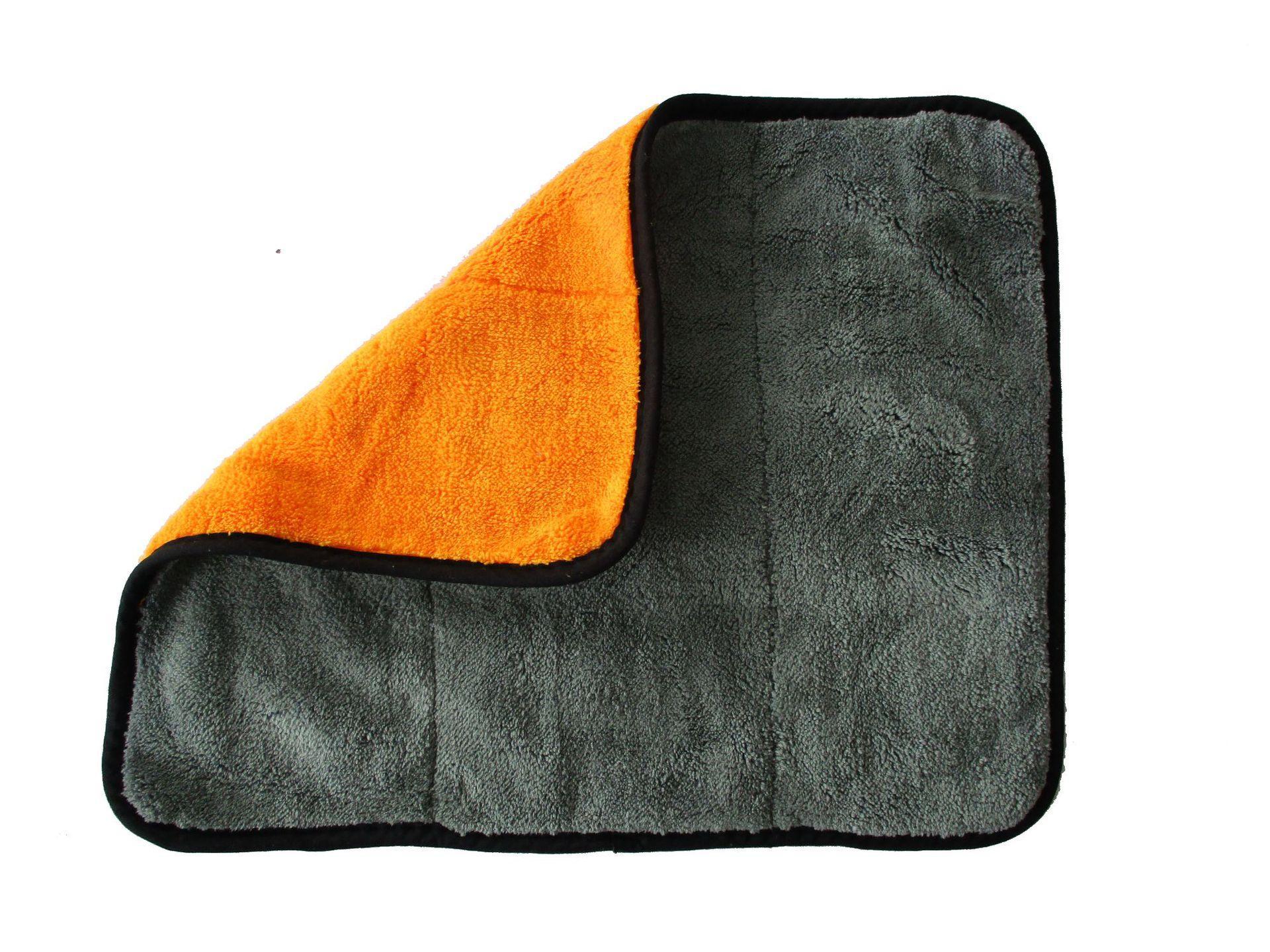 new4 45cmx38cm Super Thick Plush de microfibra carro limpeza Panos Car Care microfibra cera de polimento Detalhamento Toalhas